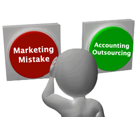 Are You Making This Big Marketing Mistake? Accounting Outsourcing Can Help You Solve It